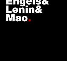 Marx&Engels&Lenin&Mao. by Bas van Oerle