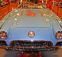 Baby Blue Vette by Chet  King