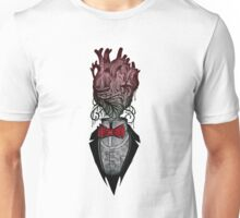 think with your heart gentlemen Unisex T-Shirt
