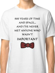 Doctor Who - Important Classic T-Shirt