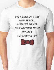 Doctor Who - Important T-Shirt