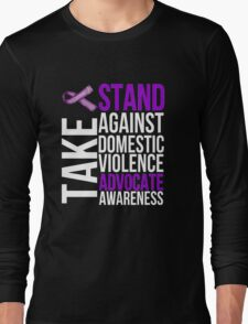 Stand Against Domestic Violence Long Sleeve T-Shirt