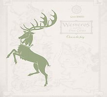 Game of Thrones, House Baratheon, Green by Woollymammoth88