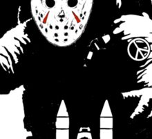 JASON - friday the 13th space camp Sticker