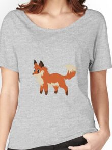 The English Fox  Women's Relaxed Fit T-Shirt