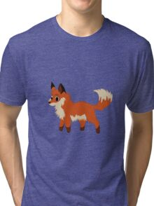 The English Fox  Tri-blend T-Shirt