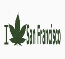 0095 I Love San Francisco  by Ganjastan