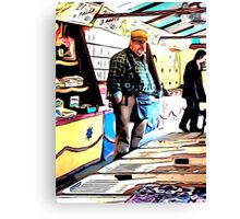 BIG HARRY HALL 'N' HIS FAIRGROUND STALL Canvas Print
