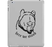 Mormont black iPad Case/Skin