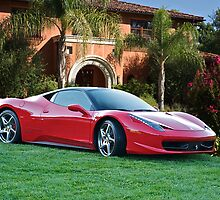 2012 Ferrari F458 Italia  by DaveKoontz