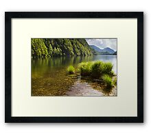 Lake Toplitz Framed Print