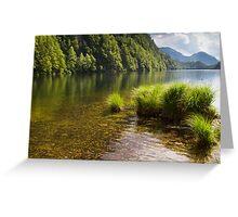 Lake Toplitz Greeting Card