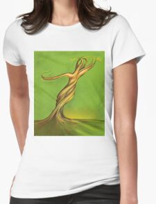Sensual Tree  Womens Fitted T-Shirt