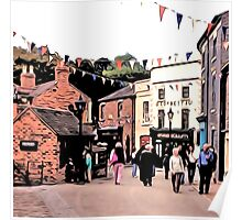 BUSTLING BLISTS HILL Poster