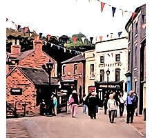 BUSTLING BLISTS HILL Photographic Print
