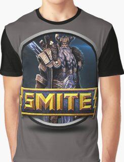 Smite Odin Logo Graphic T-Shirt