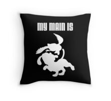 My Main Is Duck Hunt (Smash Bros) Throw Pillow