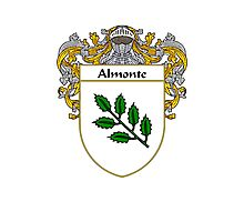 Almonte Coat of Arms/Family Crest Photographic Print