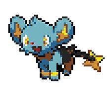 Pokemon - Shinx Sprite by ffiorentini