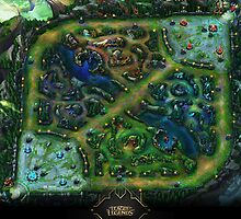 League of Legends Map Season 5 by SohnDesOdysseus