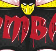 Kom-bat Scorpion Sticker