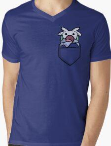 GOOMY Mens V-Neck T-Shirt