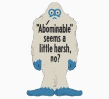 Abominable Snowman by prinbra86