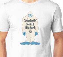 Abominable Snowman Unisex T-Shirt