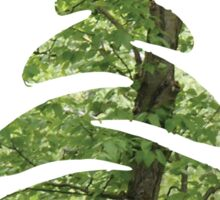 Abstract Tree Sticker