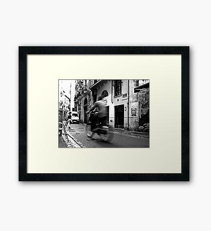 Zooom ... Framed Print