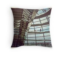 The Reichstag Building  Throw Pillow