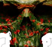 Field of Skull Sticker