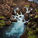 Fresh Water Stream Iceland by Peter Kewley