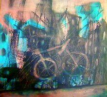 Velespit-Acrylic On Canvas,Oil Painting-40x40cm.-2012-450€ by Tijen Hasçilingir