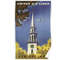 Vintage poster - New England Poster