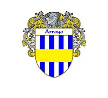 Arroyo Coat of Arms/Family Crest Photographic Print