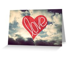 Love: Sky Greeting Card