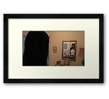 Lily In The Mirror - 2 Framed Print