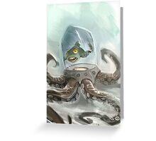 Octo Fishy Greeting Card