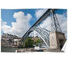 Don Luis Bridge in Porto Poster