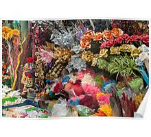 flowers in florist Poster