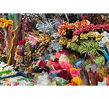 flowers in florist Photographic Print