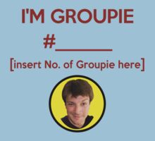 """I'm Groupie Number.... "" Joss Whedon's Dr. Horrible - Dark One Piece - Short Sleeve"