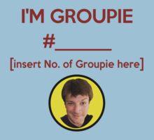 """I'm Groupie Number.... "" Joss Whedon's Dr. Horrible - Dark Kids Tee"