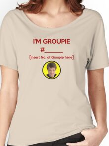 """I'm Groupie Number.... "" Joss Whedon's Dr. Horrible - Dark Women's Relaxed Fit T-Shirt"