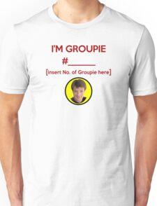 """""""I'm Groupie Number.... """" Joss Whedon's Dr. Horrible - Dark Unisex T-Shirt"""