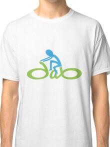 bikedabs logo sticker Classic T-Shirt