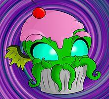 Cupcake Cthulhu by 8BitSpirit