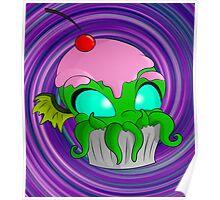Cupcake Cthulhu Poster