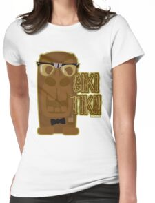 The Giki Tiki Womens Fitted T-Shirt